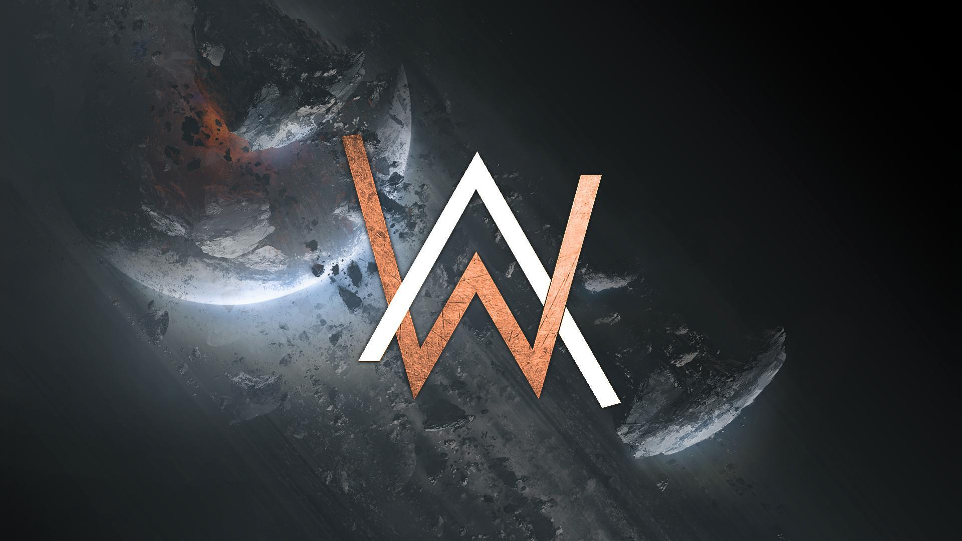 Alan Walker Logo Wallpapers  Wallpaper Cave