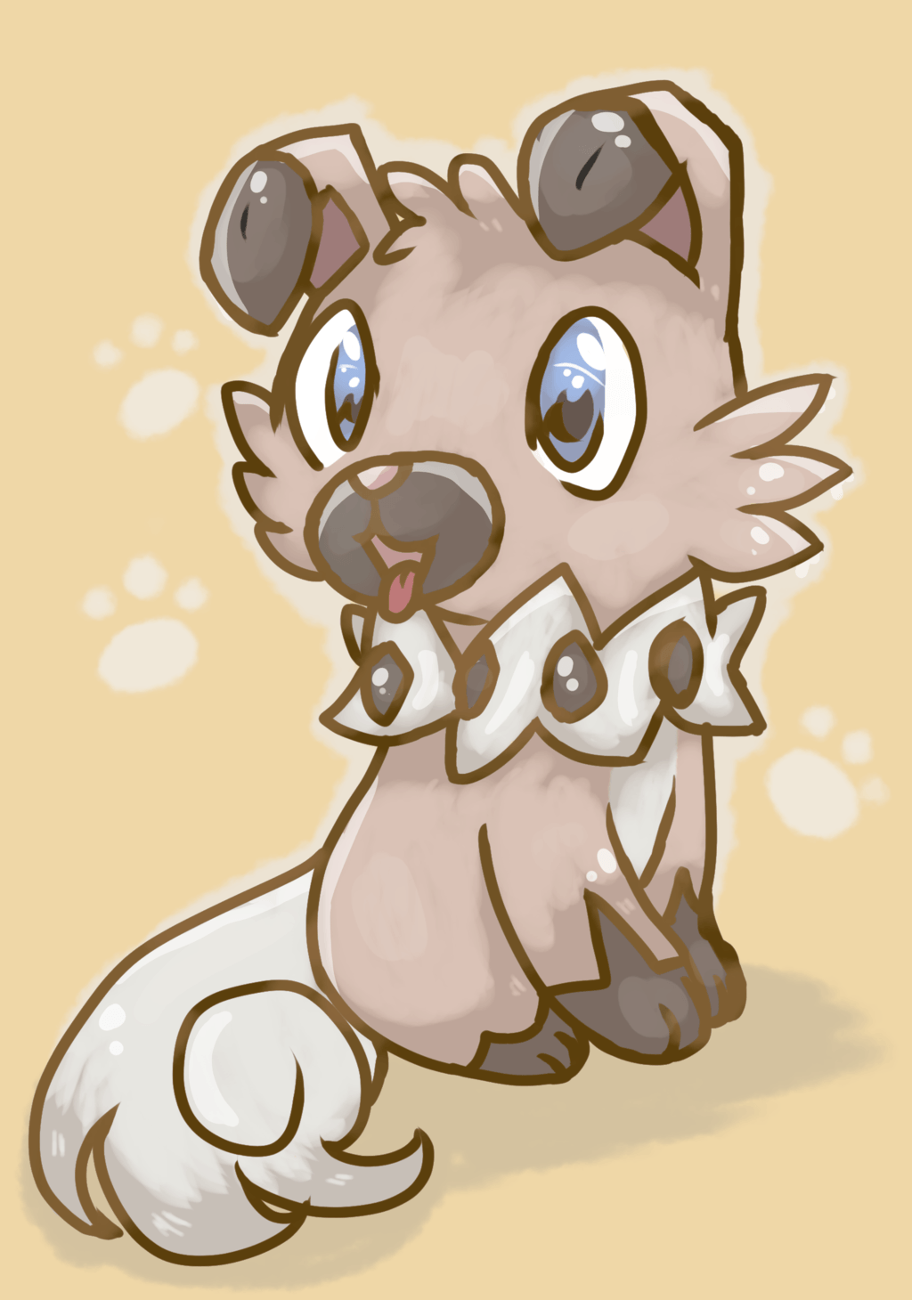 Cute Wallpapers Chibi Animals Rockruff Wallpapers Wallpaper Cave