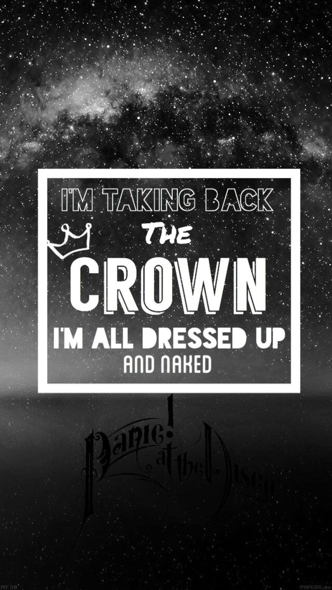 Fall Out Boy Song Lyrics Wallpaper Panic At The Disco 2018 Wallpapers Wallpaper Cave
