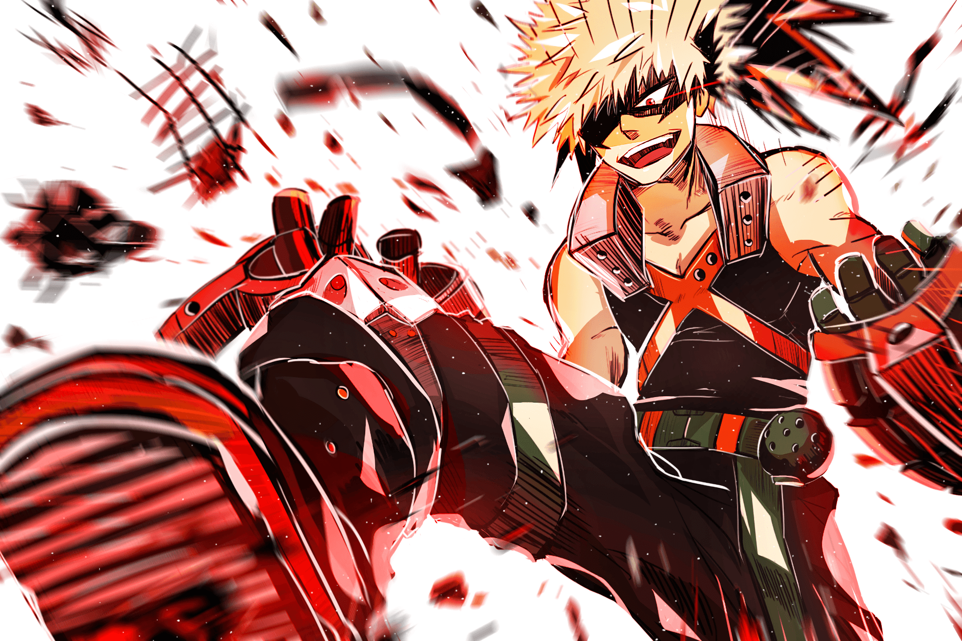 Awesome widgets, amazing wallpapers, newsfeed related to the topic and a lot of other things in our new my hero academia wallpapers. Katsuki Bakugo Wallpapers - Wallpaper Cave