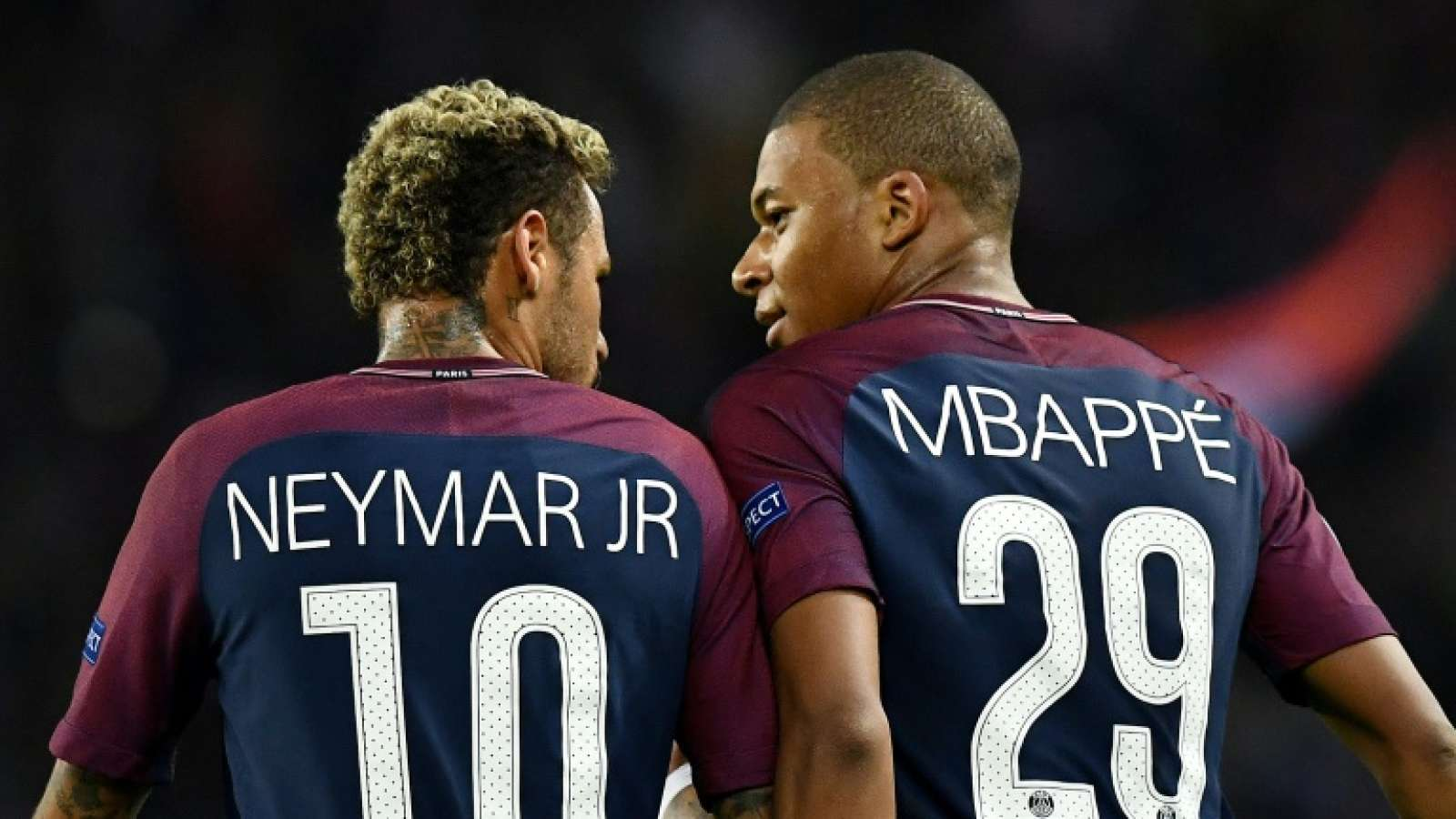 neymar and mbappe wallpapers