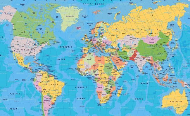 World Map Wallpapers High Resolution Wallpaper Cave
