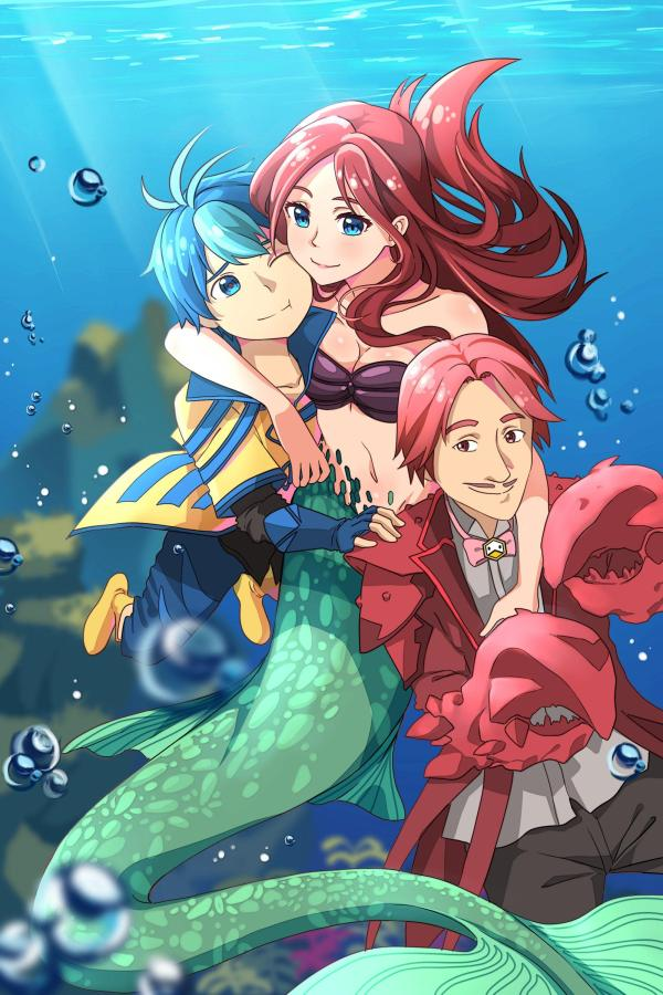 Anime Mermaids Wallpapers - Wallpaper Cave
