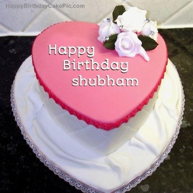 Birthday Cake For Name Shubham Wallsmiga