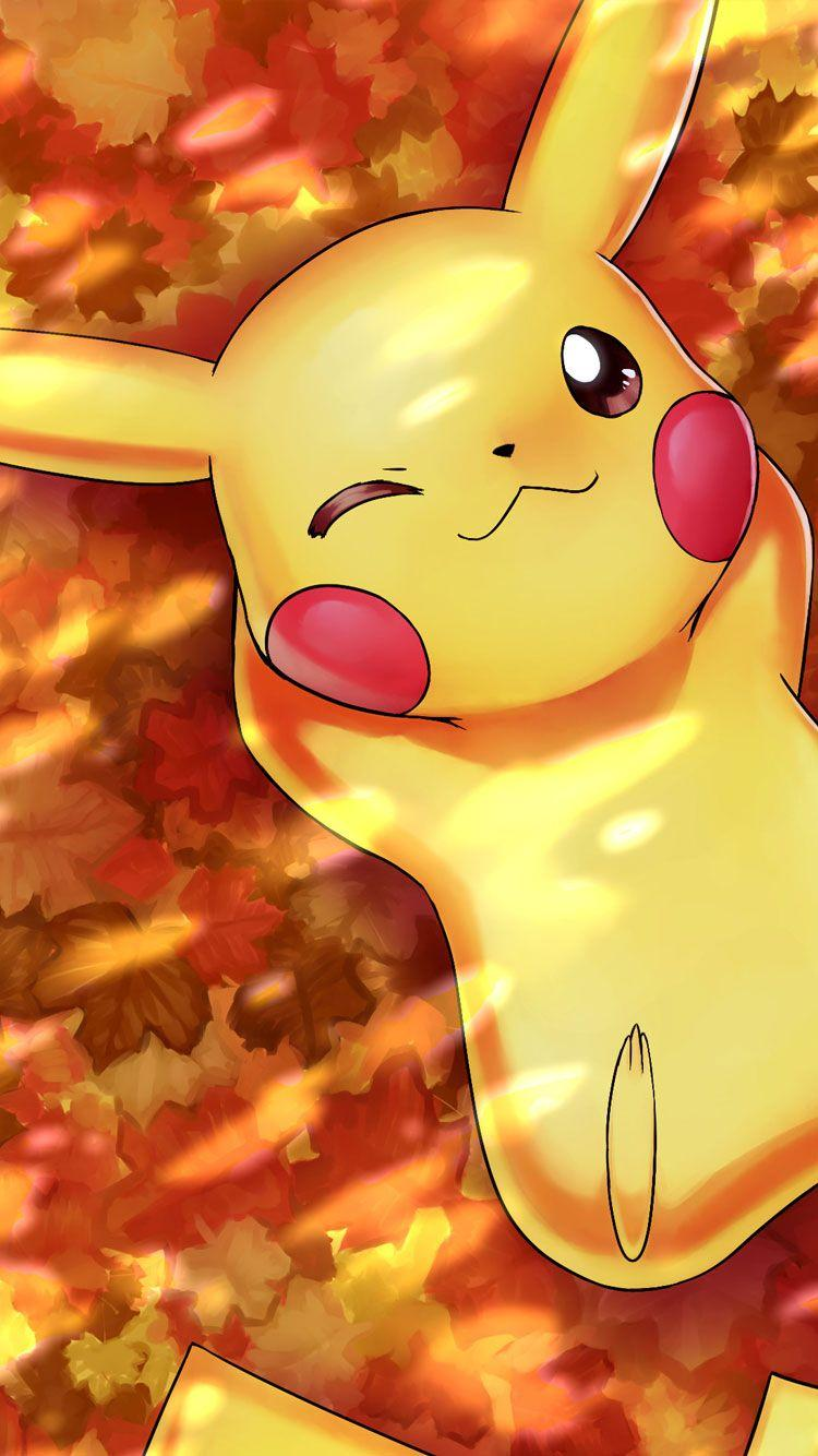 Beautiful Fall Paintings Wallpapers Pikachu Wallpapers 3d Wallpaper Cave