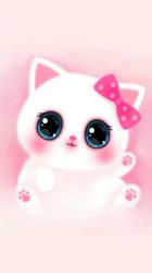 girly pink wallpapers iphone cat backgrounds melody animated krwa lo tag nia 3d october awesome seven various ways