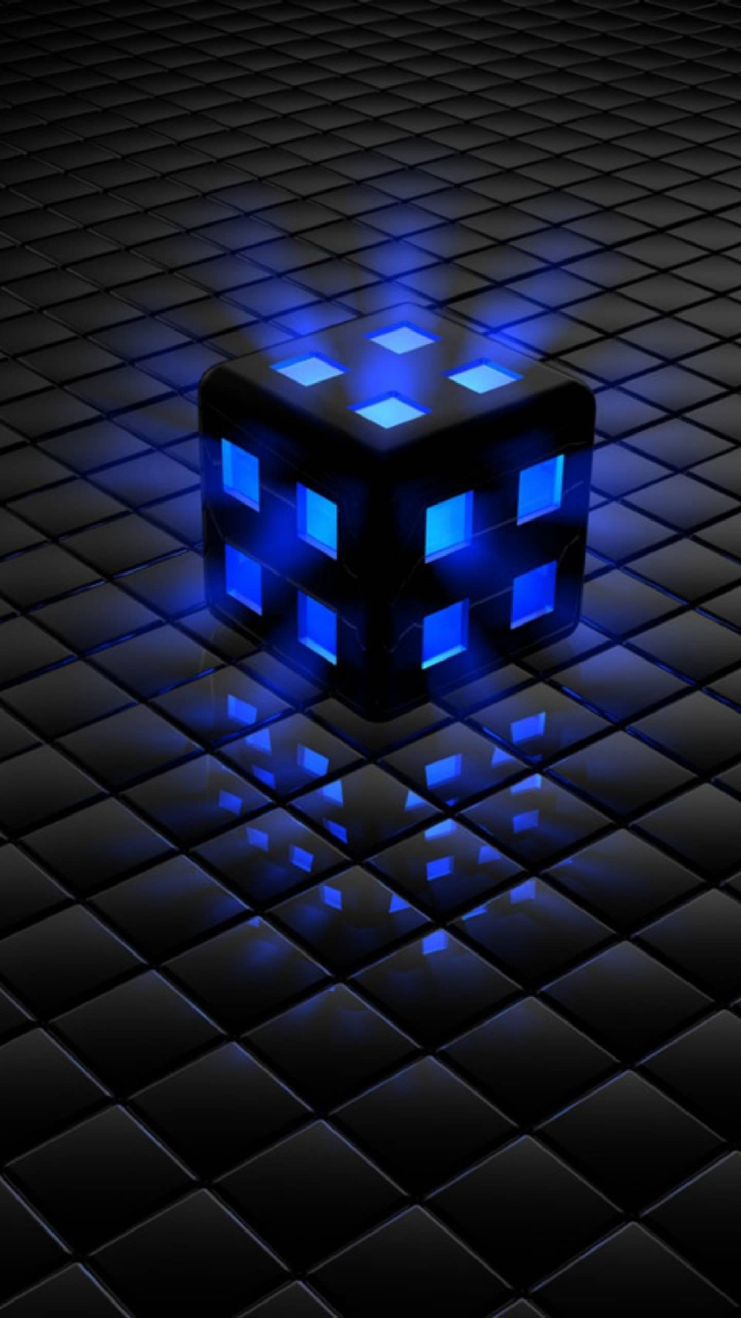 Cool Black And Blue Background : black, background, Black, Android, Wallpapers, Wallpaper