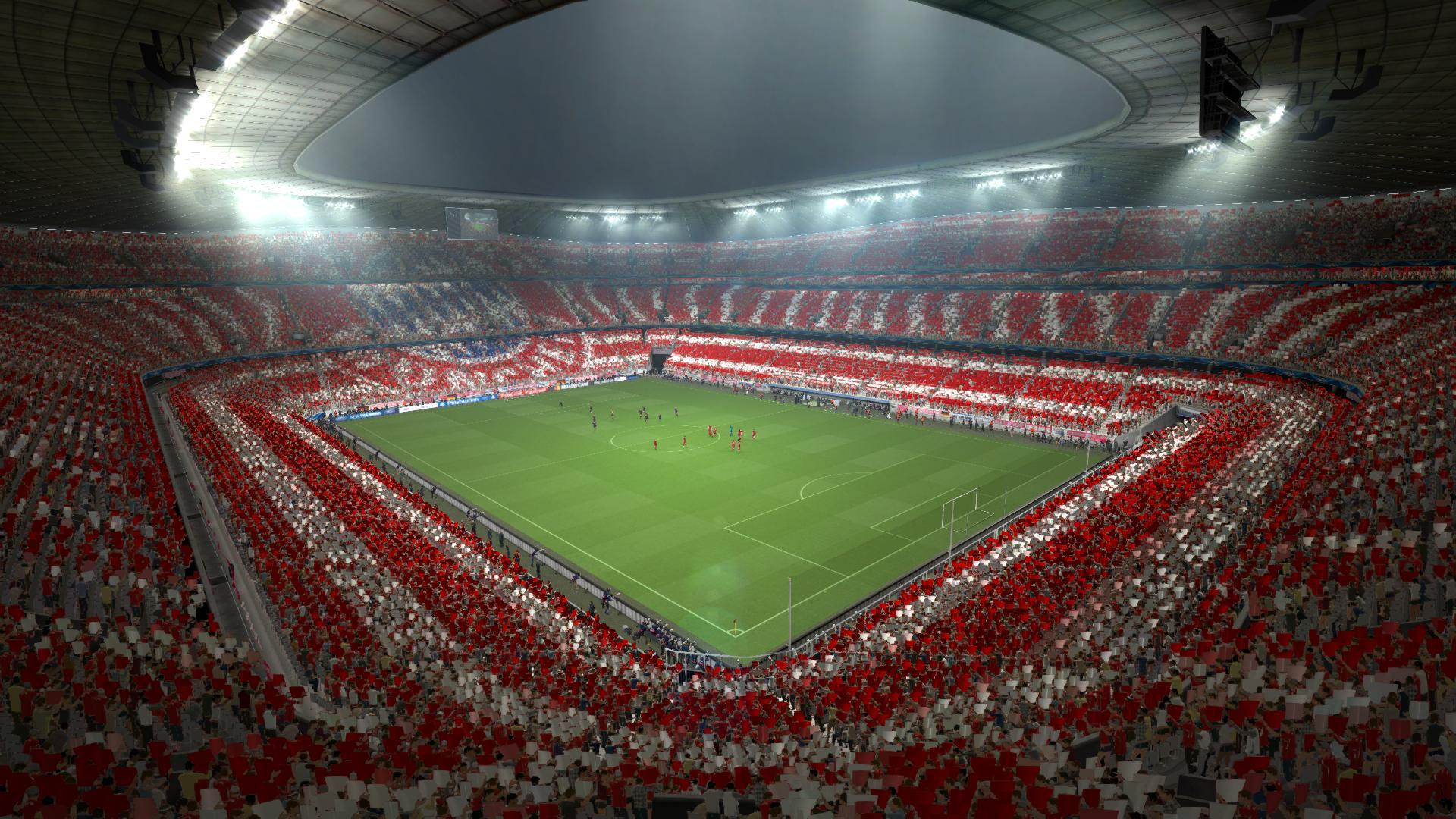 Awesome 3d Wallpapers Hd Allianz Arena Hd Wallpapers Wallpaper Cave