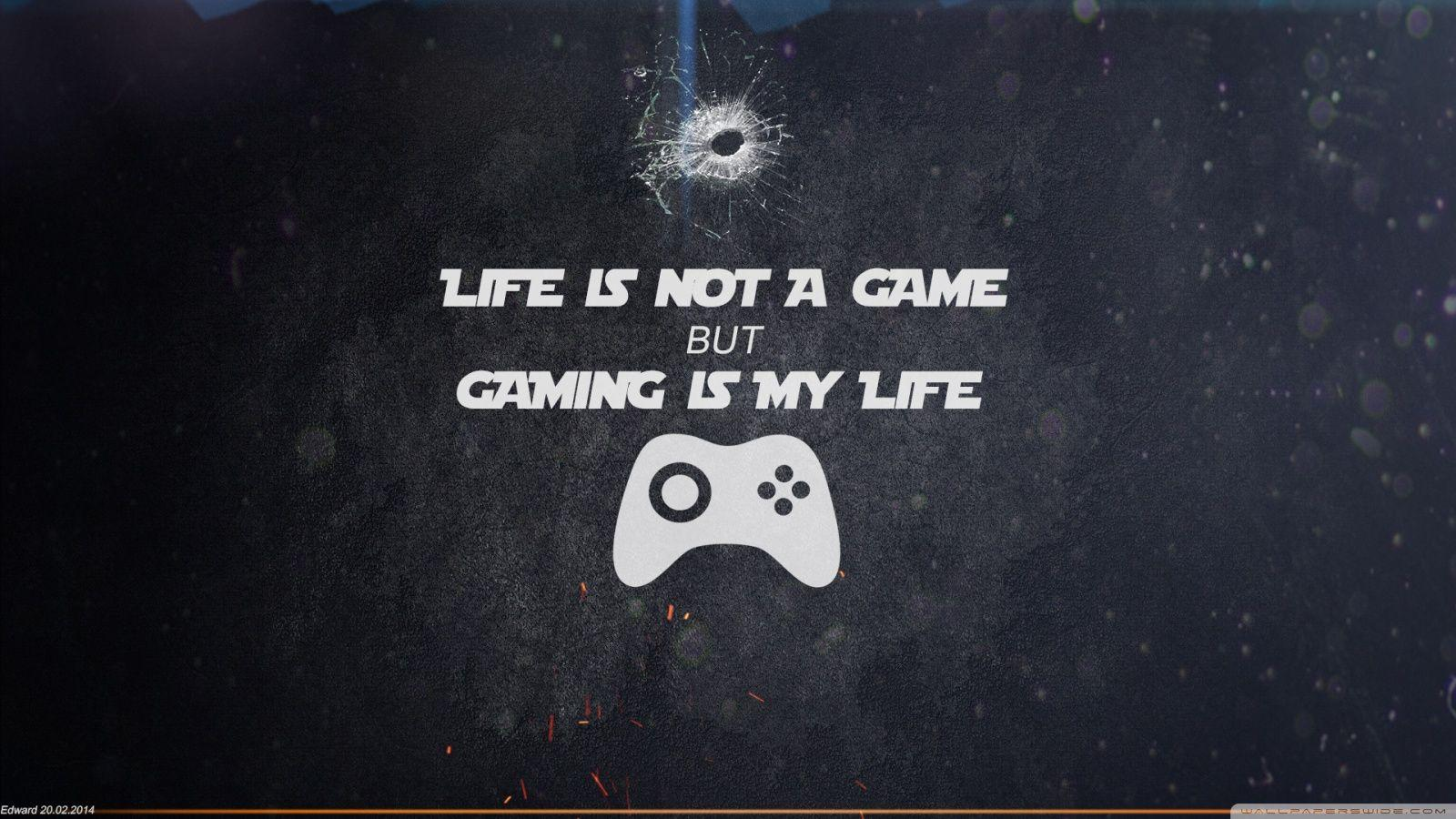 Gaming Quotes Wallpaper 4k - Novocom.top