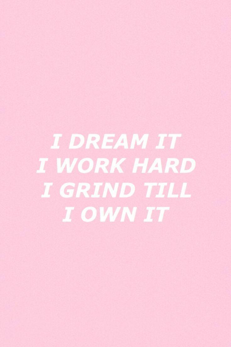 Hustle Hard Girl Wallpaper Iphone Wallpapers Tumblr Pink Wallpaper Cave