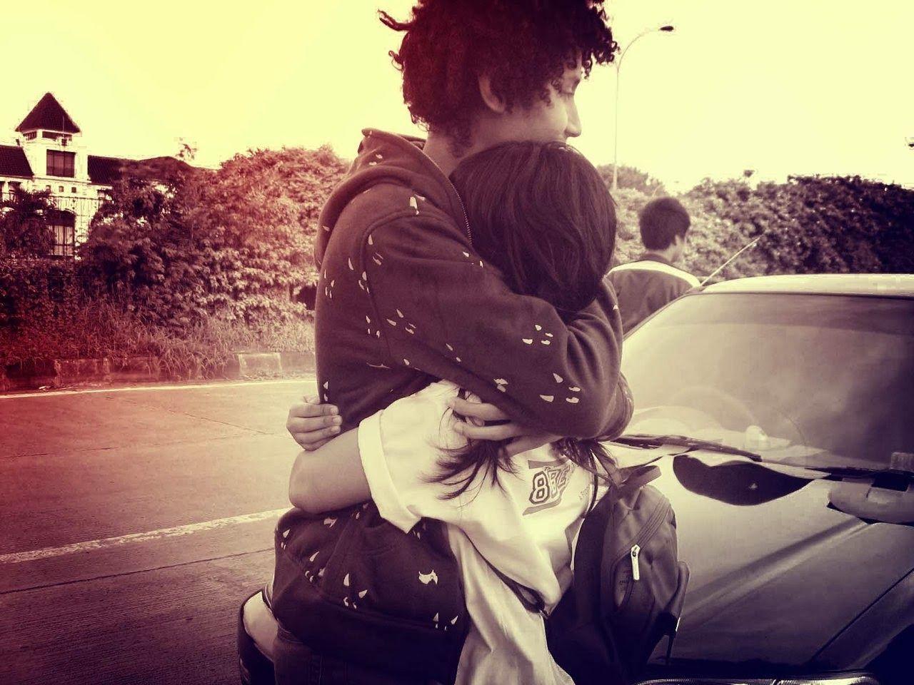 Cute Hugging Couples Wallpapers Lovers Hug Wallpapers Wallpaper Cave