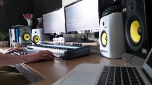 studio wallpapers homestudio hardstyle session