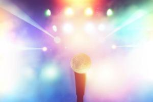 karaoke background microphone stage backgrounds concert colorful bright hall tampa atlanta lights bars person professional fam blurred vip