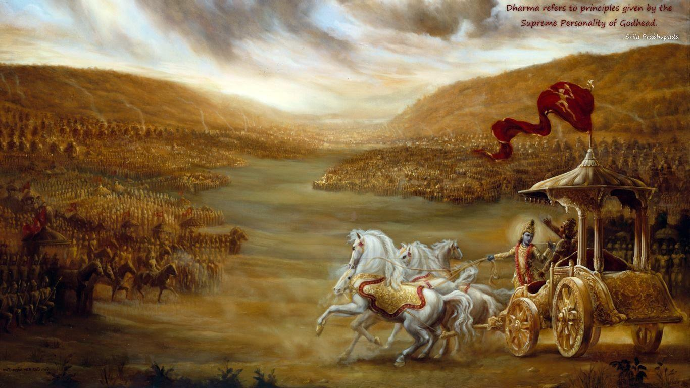 War Quote Wallpaper Hd Bhagavad Gita Hd Wallpapers Wallpaper Cave