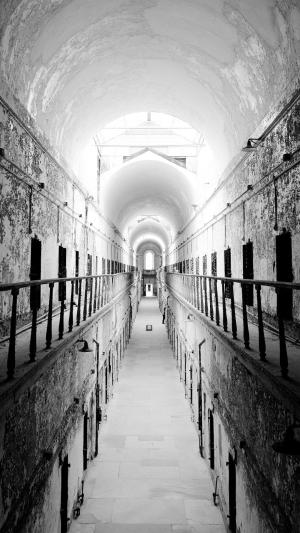 prison interior iphone jail android wallpapers plus architecture cave