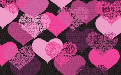 pink cute hitam backgrounds background