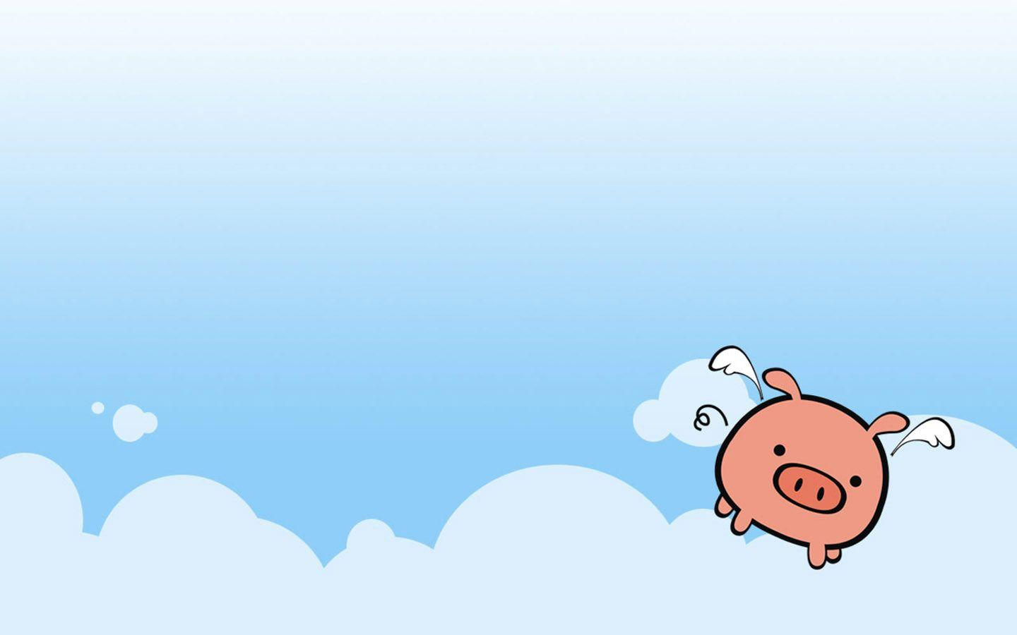 Cute Real Pigs Iphone Wallpaper Wallpapers Pig Cartoon Wallpaper Cave