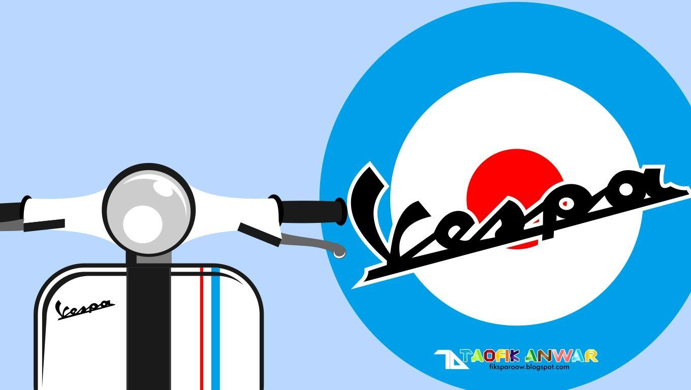 Wallpapers Vespa Logo  Wallpaper Cave