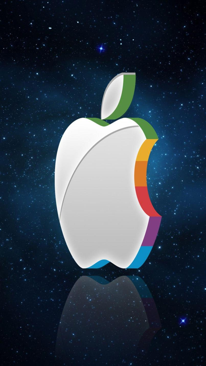Hd Apple Logo Wallpapers For Iphone 6 Wallpapersimages Org