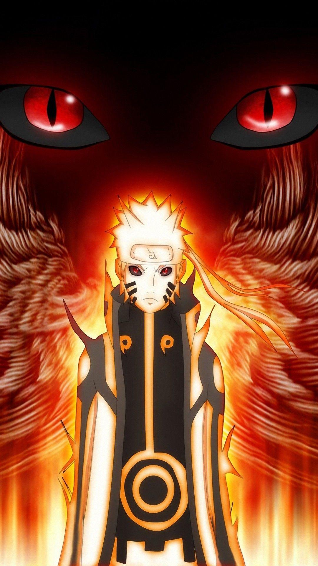 Nine Tails Wallpaper : tails, wallpaper, Naruto, Tails, Wallpapers, Wallpaper
