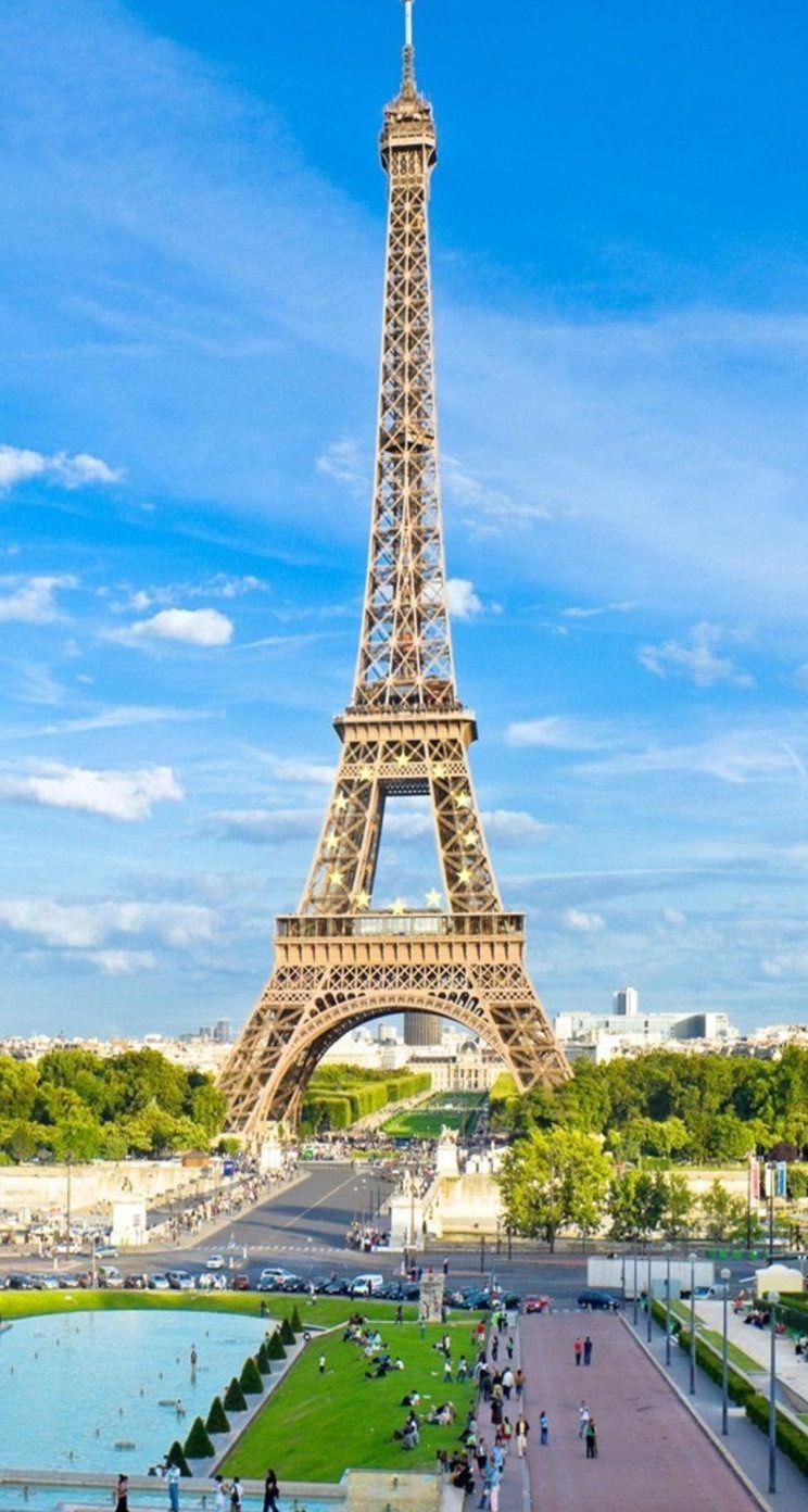 Wallpaper Menara Eiffel : wallpaper, menara, eiffel, Eiffel, Tower, Wallpaper, Iphone, Beautiful, Place