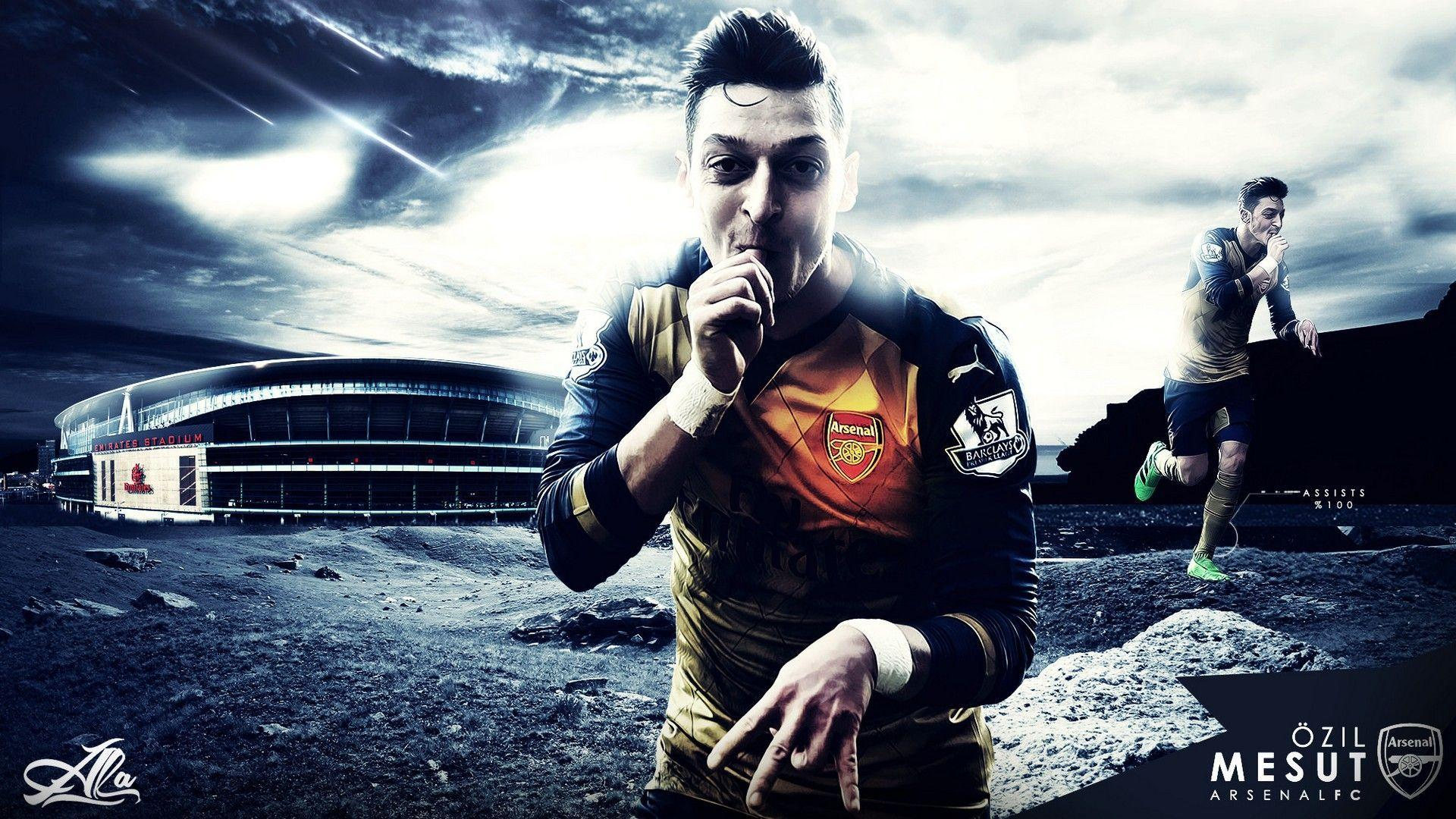 Mesut Ozil Wallpapers Hd Arsenal Ozil Beautiful Wallpapers Wallpaper Cave
