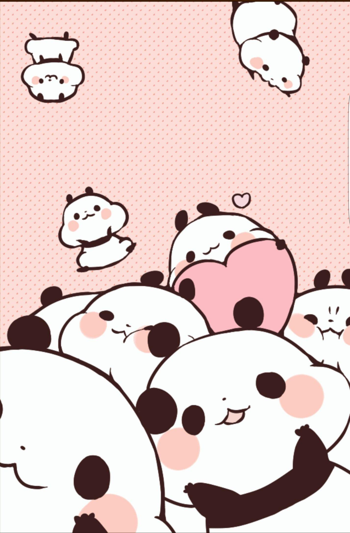Anime Panda Wallpaper : anime, panda, wallpaper, Kawaii, Panda, Wallpapers, Wallpaper