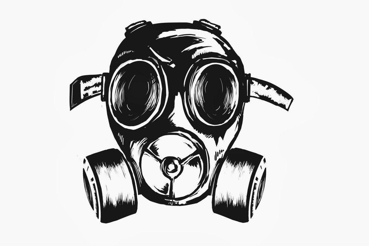 Gangster Mask Graffiti Wallpapers