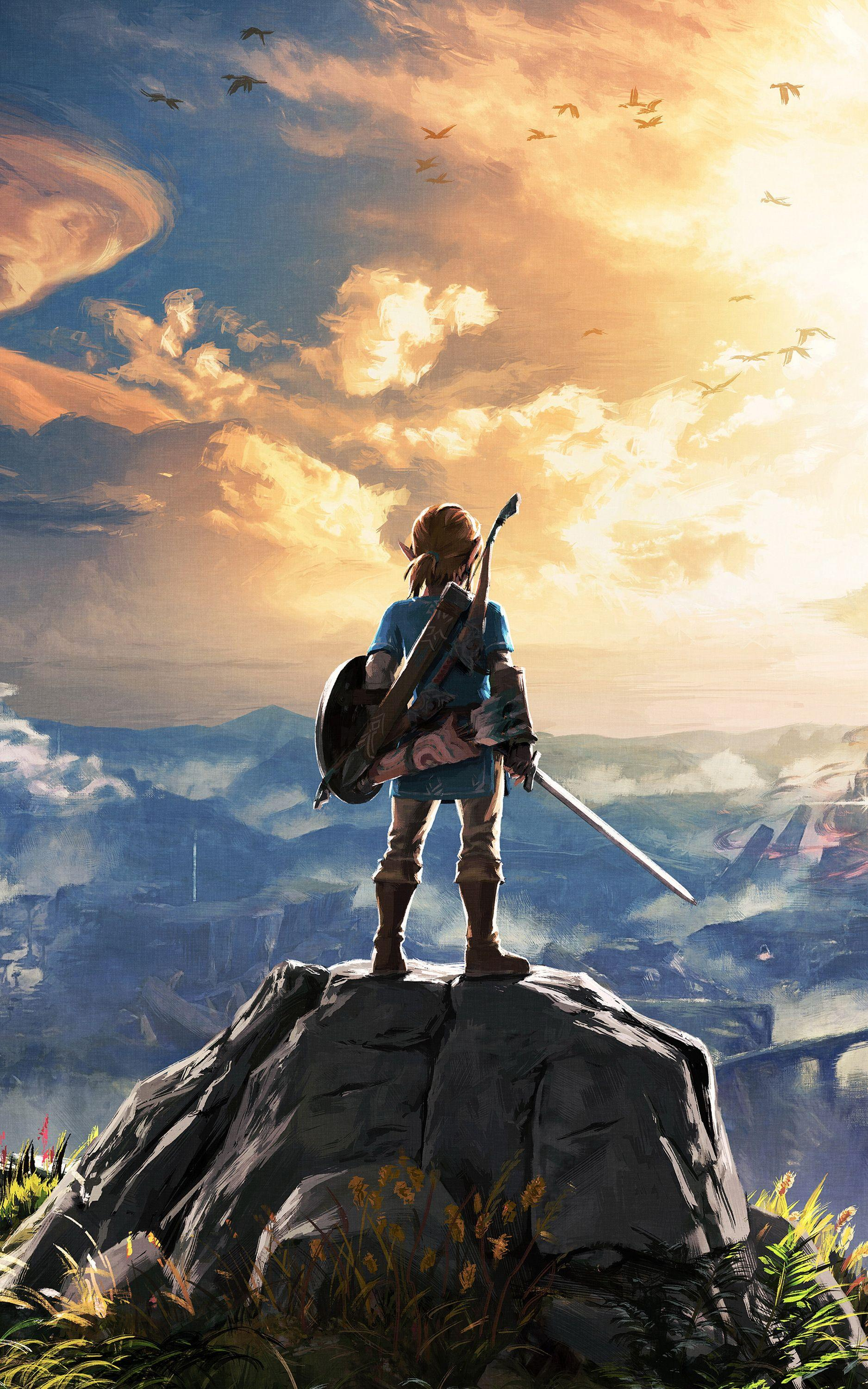 Botw Wallpaper Phone : wallpaper, phone, Zelda, Mobile, Wallpapers, Wallpaper