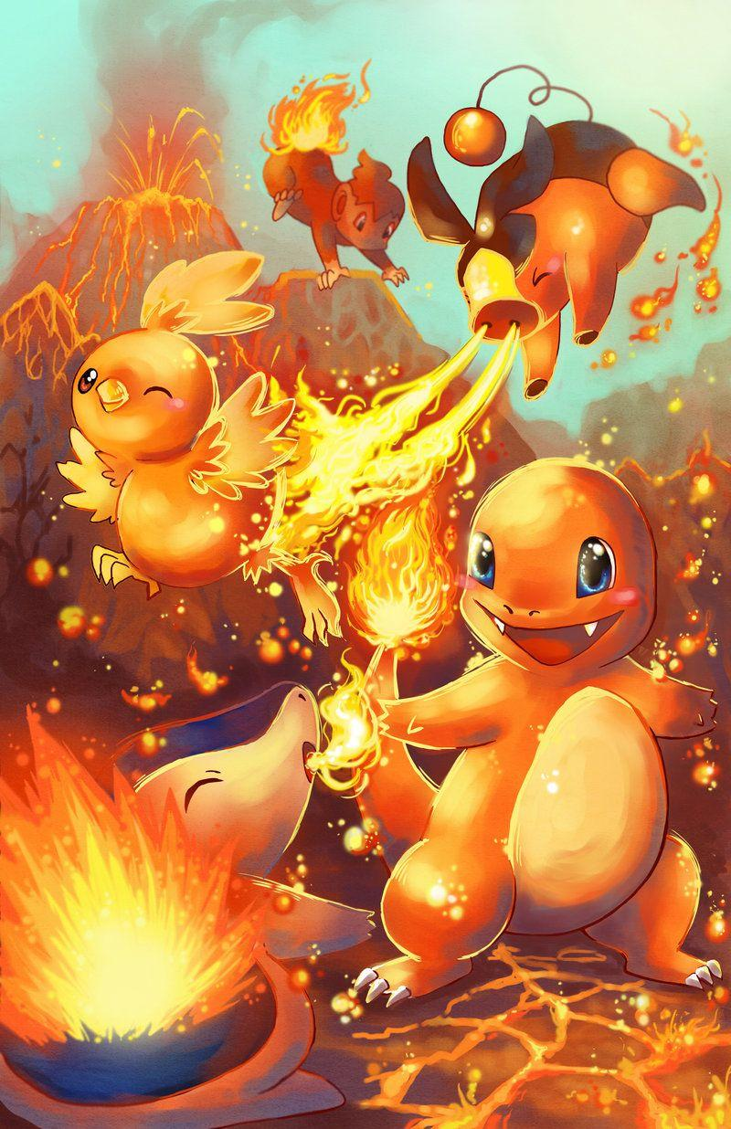Pokemon Starters Wallpaper : pokemon, starters, wallpaper, Pokemon, Wallpapers, Starters, Wallpaper