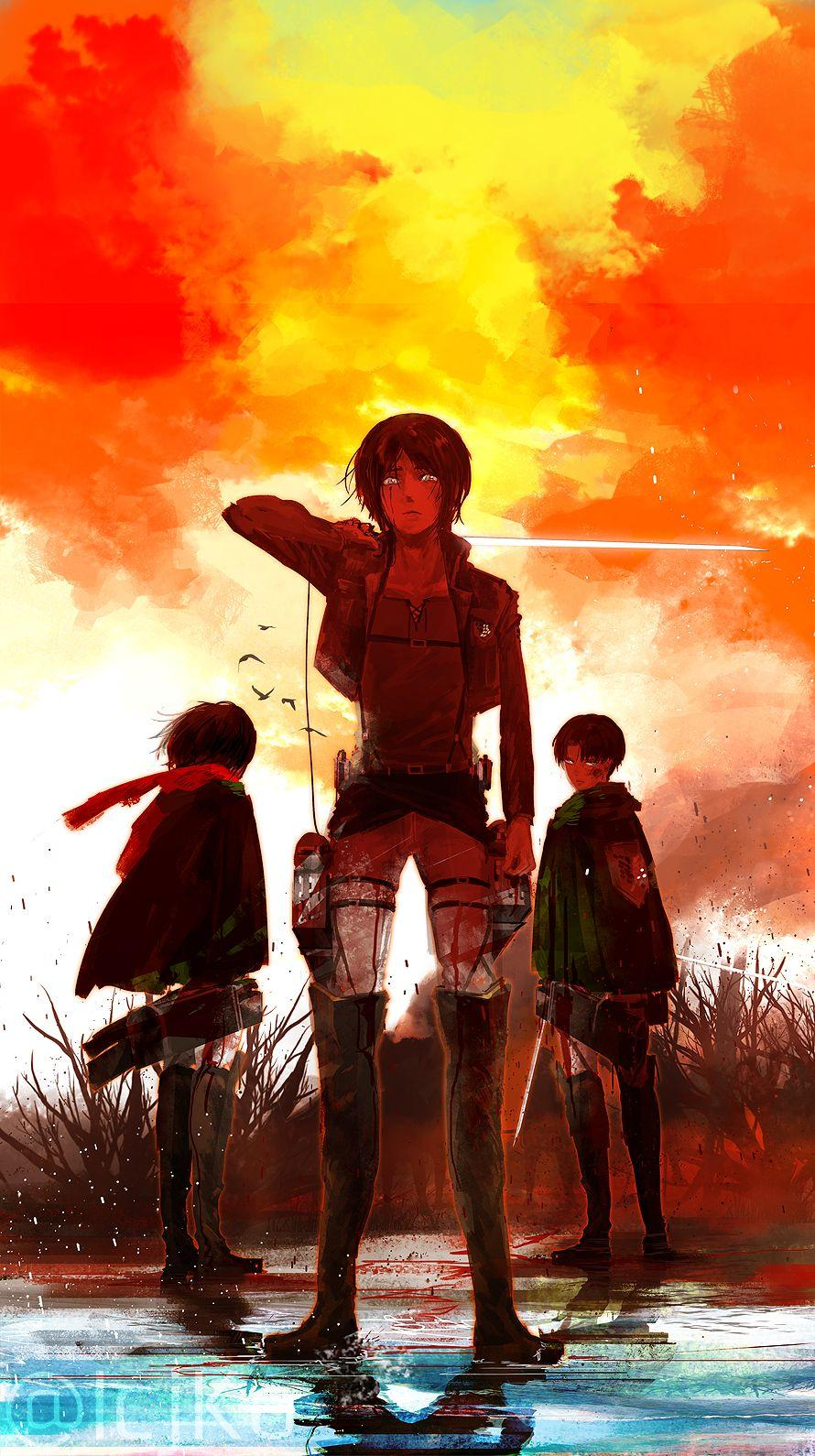 Use live and dynamic wallpapers to add some motion to your phone. Attack On Titan Phone Wallpapers - Wallpaper Cave