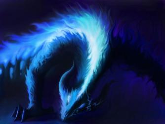 fire dragon wallpapers google 3d fuego wallpapercave azul guardado desde