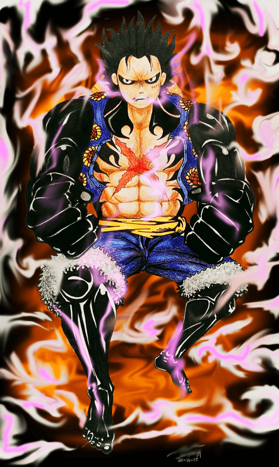 Tons of awesome luffy gear fourth wallpapers to download for free. Luffy Gear Fourth Wallpapers - Wallpaper Cave