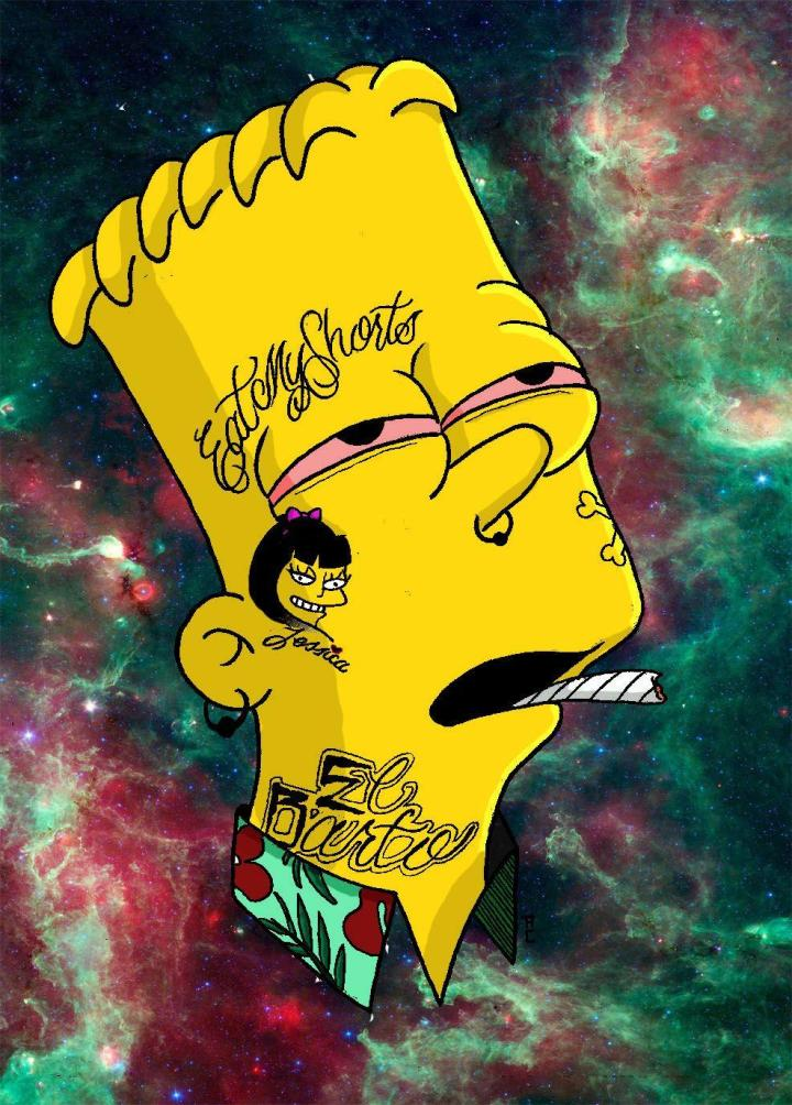 Bart Simpson Wallpaper Supreme Amatwallpaper Org