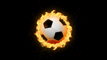 Soccer Ball Flames Wallpapers - Wallpaper Cave