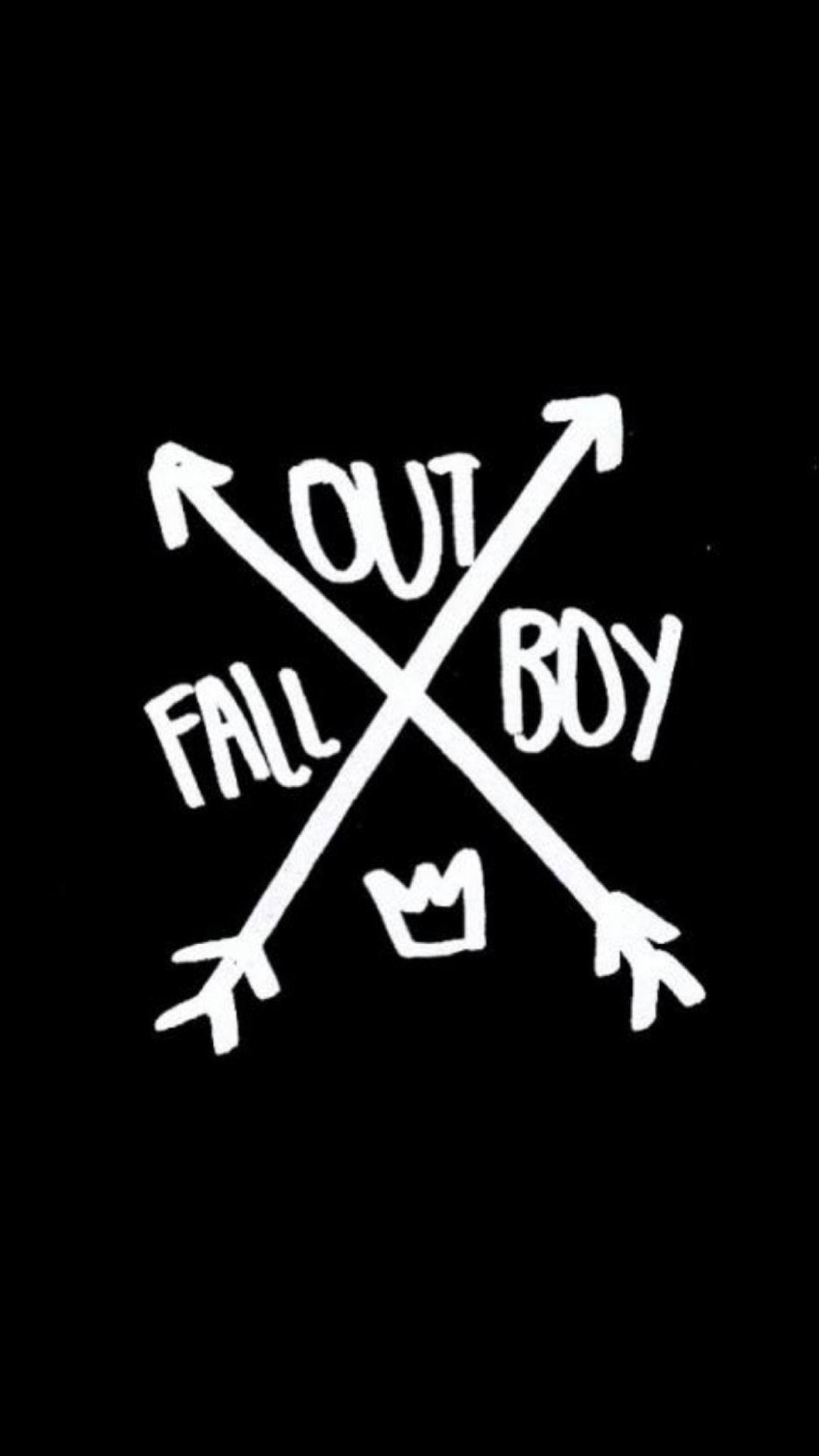 Fall Out Boy Wallpaper Laptop Fall Out Boy Logo Wallpapers Wallpaper Cave