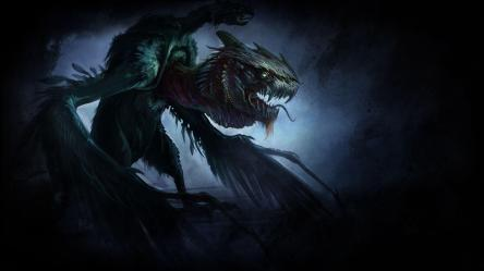 BACKGROUND MYTHICAL CREATURES Wallpaper Cave