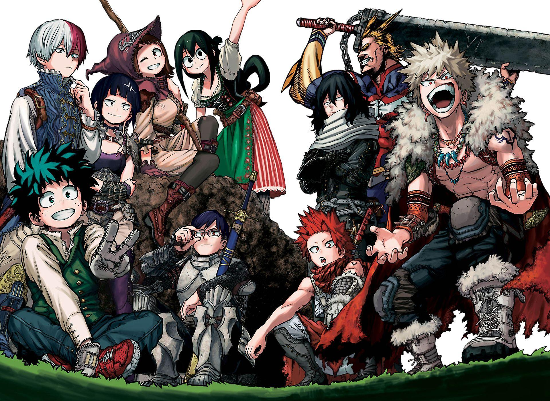 Tons of awesome my hero academia chibi wallpapers to download for free. My Hero Academia And Naruto Wallpapers - Wallpaper Cave