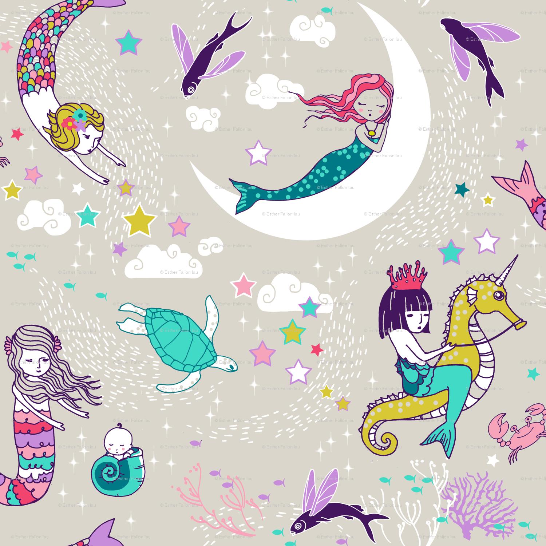 Anime Mermaid Wallpaper Kawaii Mermaid Wallpapers Wallpaper Cave