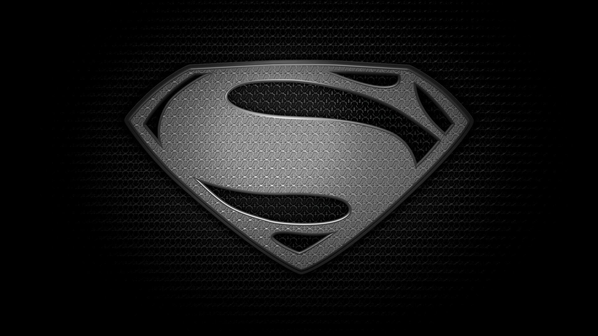 black superman logo wallpapers