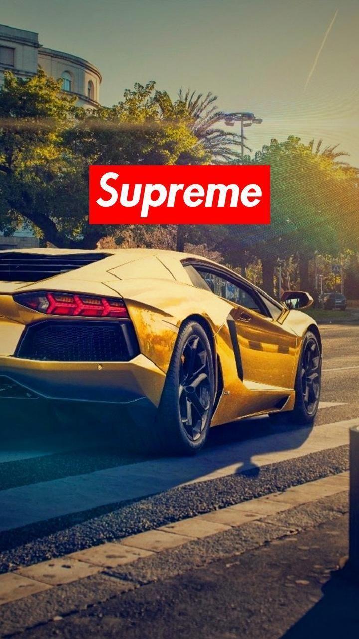 Cool Gold Lamborghini : lamborghini, Supreme, Lamborghini, Wallpapers, Wallpaper