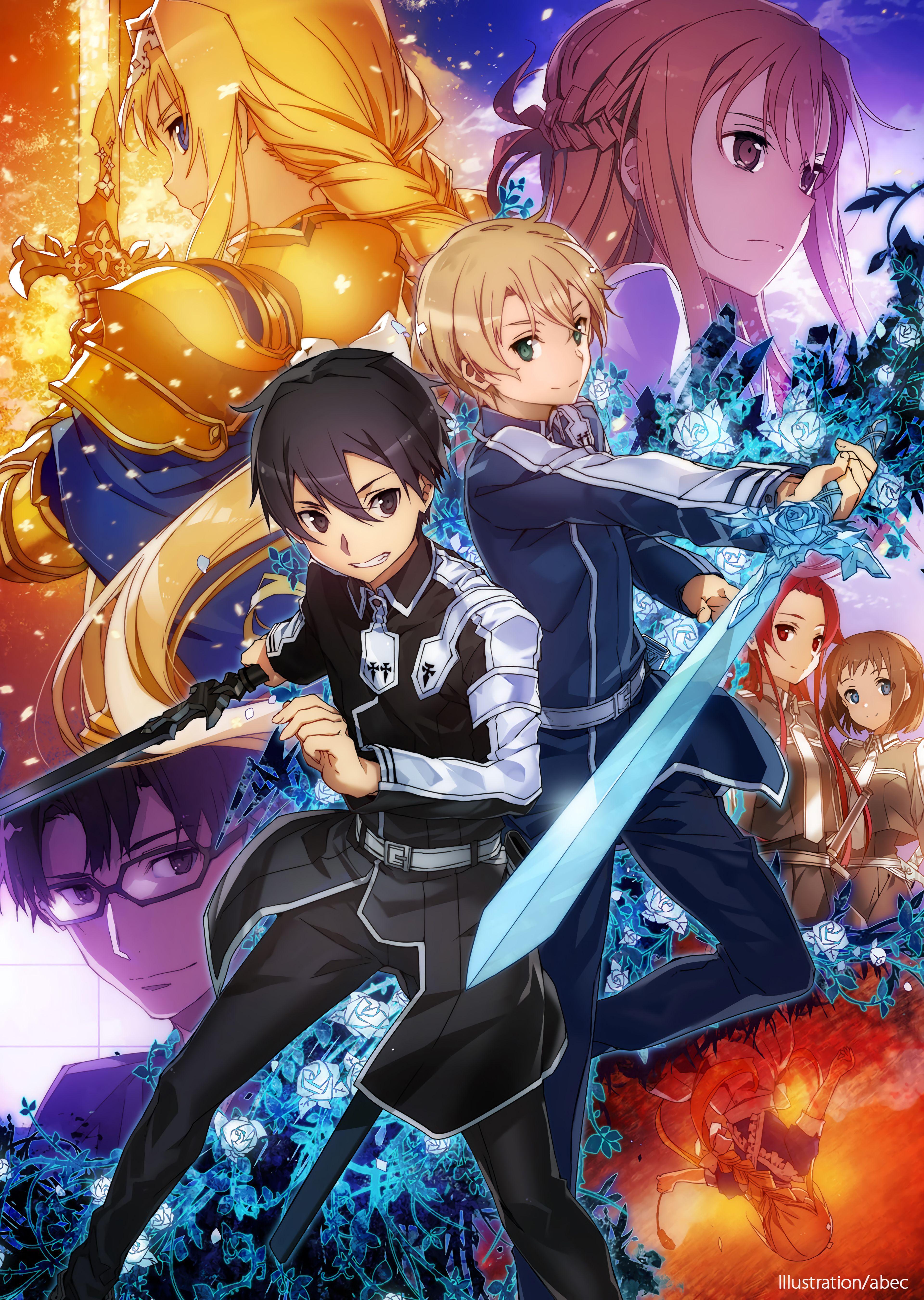 Sword Art Online - Saison 3 Episode 24 Vostfr : sword, online, saison, episode, vostfr, Sword, Online, UnderWorld, Wallpapers, Wallpaper