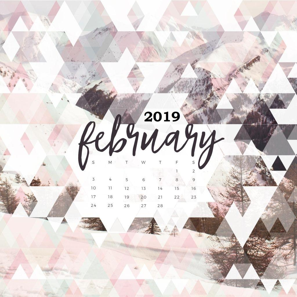 Tree Quote Wallpaper Mac February 2019 Calendar Wallpapers Wallpaper Cave