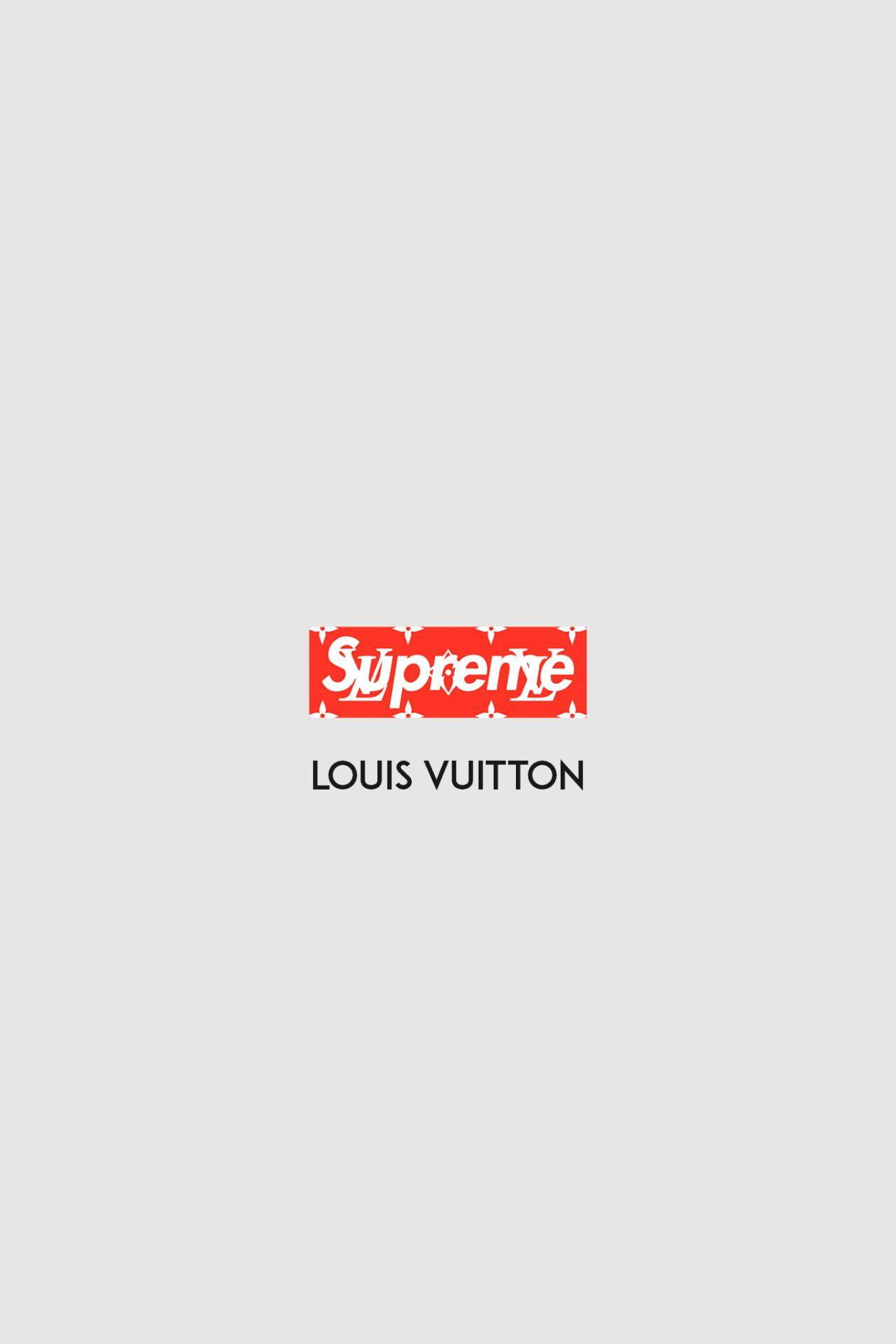Supreme White Wallpaper : supreme, white, wallpaper, Supreme, Louis, Vuitton, White, Wallpapers, Wallpaper