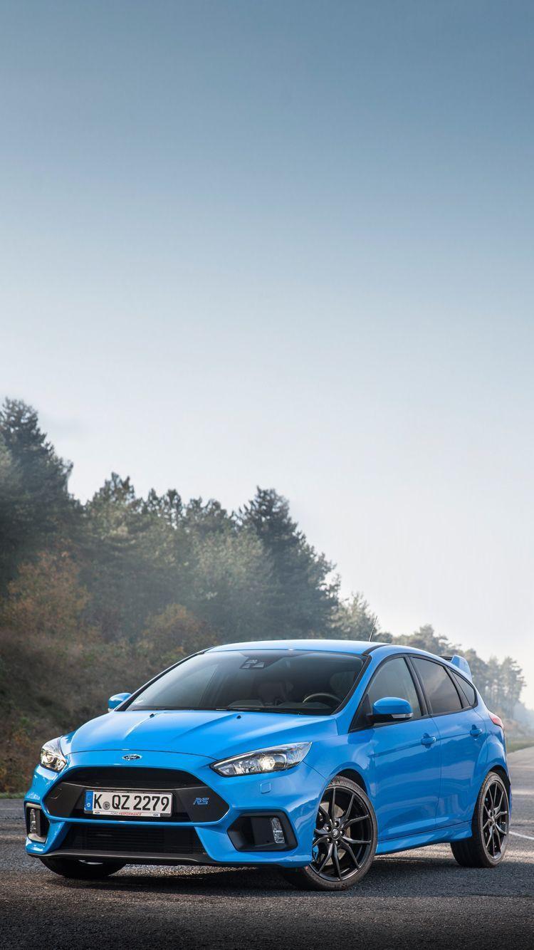 Ford Focus Rs Blue : focus, Focus, Mobile, Wallpapers, Wallpaper
