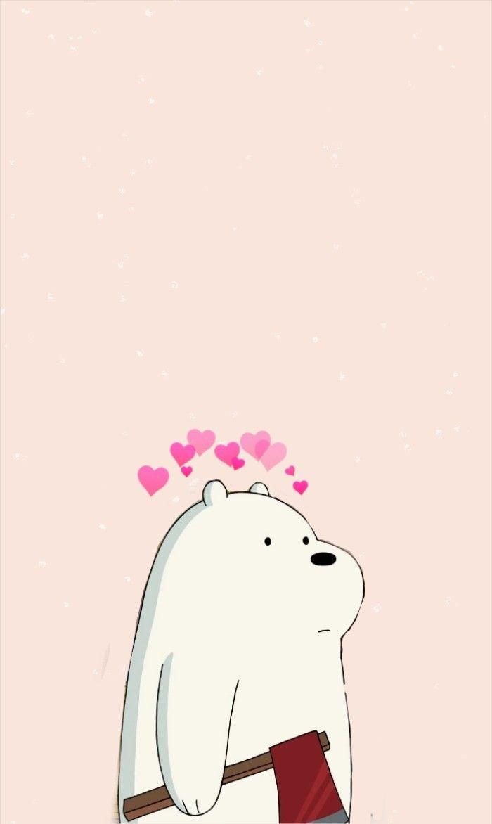 Cute Anime Cartoon Wallpaper Ice Bear We Bare Bears Wallpapers Wallpaper Cave