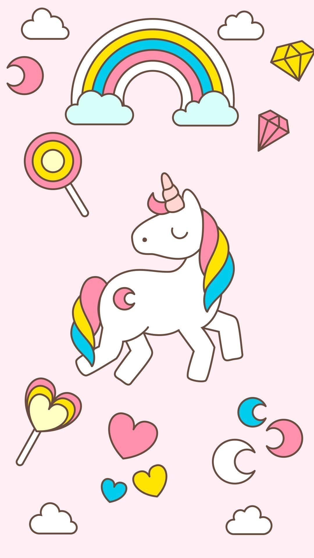 Unicorn Background Iphone : unicorn, background, iphone, Unicorn, IPhone, Wallpapers, Wallpaper