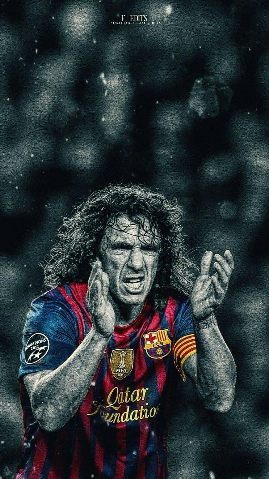 The barcelona football shirt is one of our best selling soccer jerseys with top stars including lionel messi and luis suarez making the catalan club. Puyol Wallpapers - Wallpaper Cave