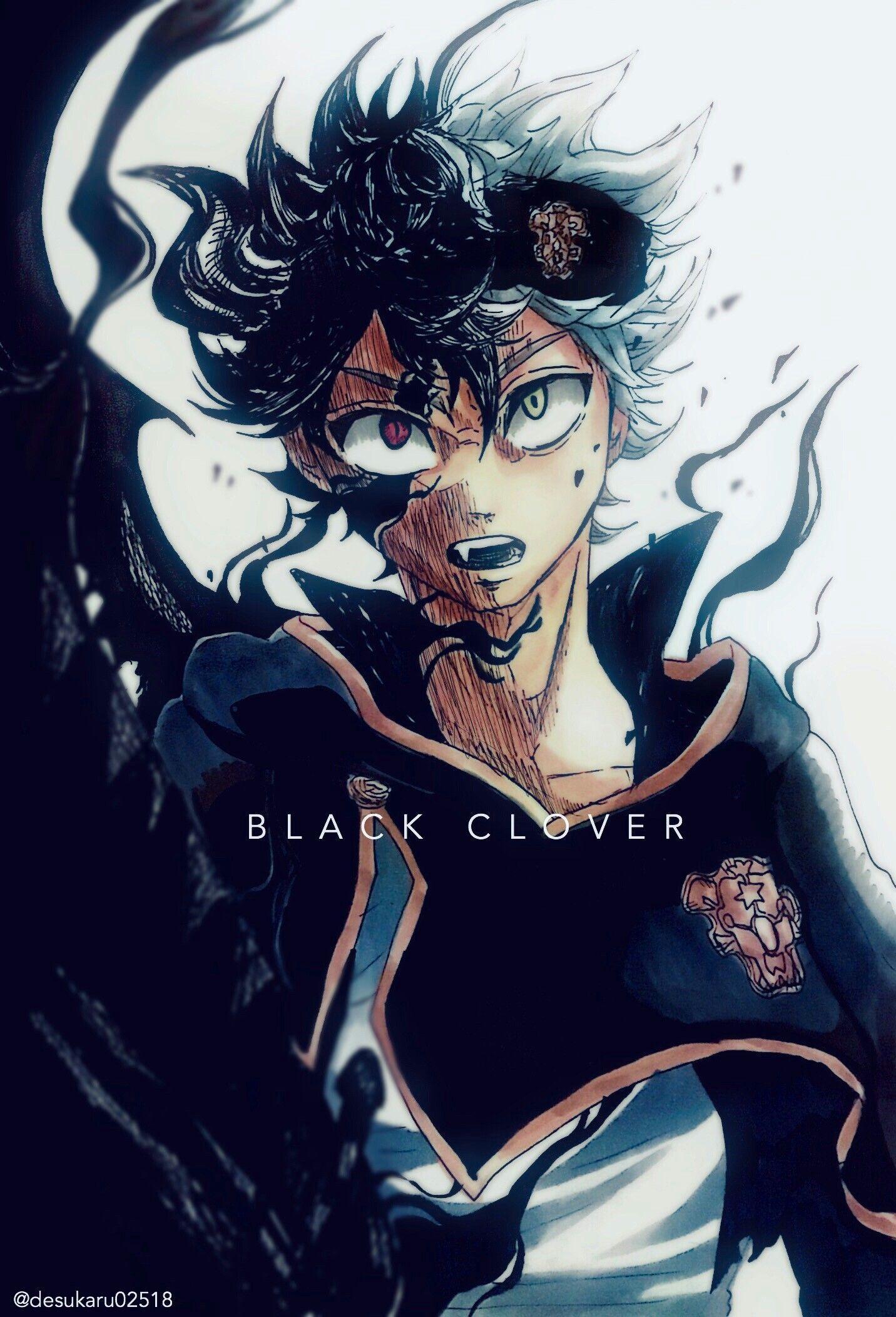 Nero Black Clover Human Form Wallpaper | SfondiCro