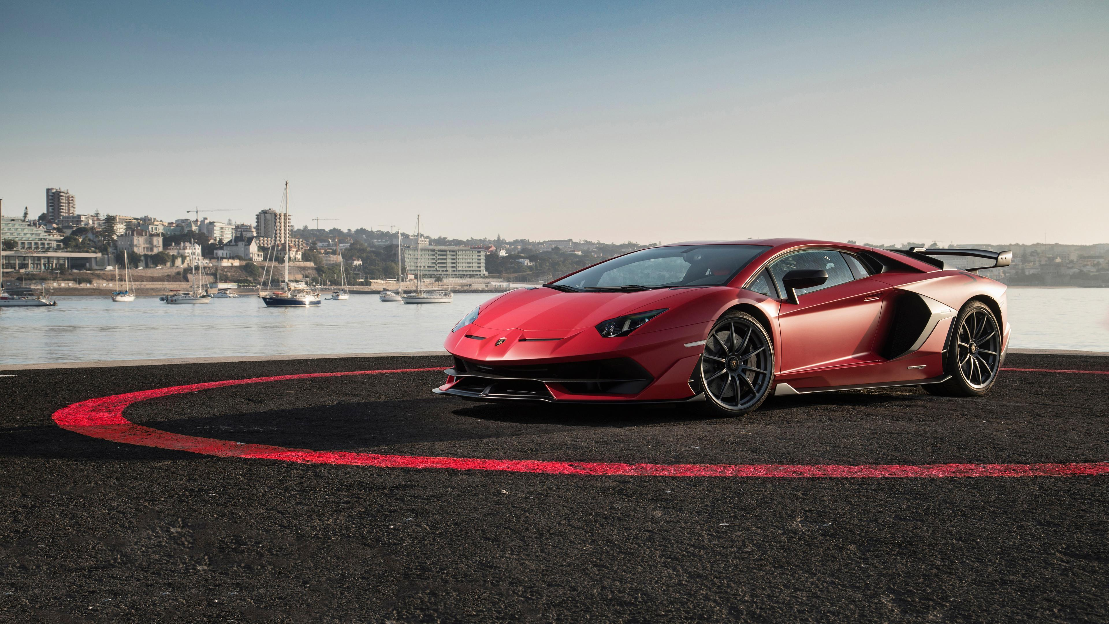 Lamborghini Aventador Svj Wallpapers Wallpaper Cave